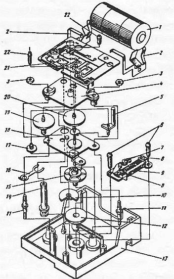 Конструктивная схема кварцевых